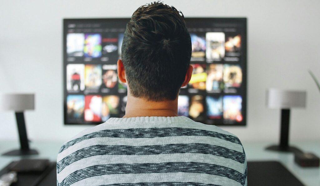 Transportar a TV na mudança